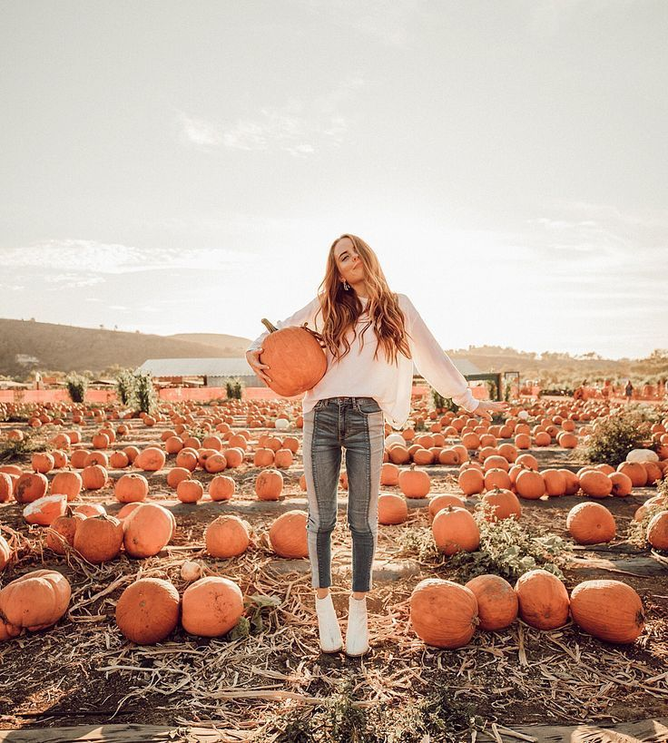 "JACI MARIE ⭐️ on Instagram: ""Basically the perfect fall day! Pumpkin picking, getting lost in a corn maze and hot chocolate on the beach ????☕️ @hollisterco…"" #pumpkinpatch"