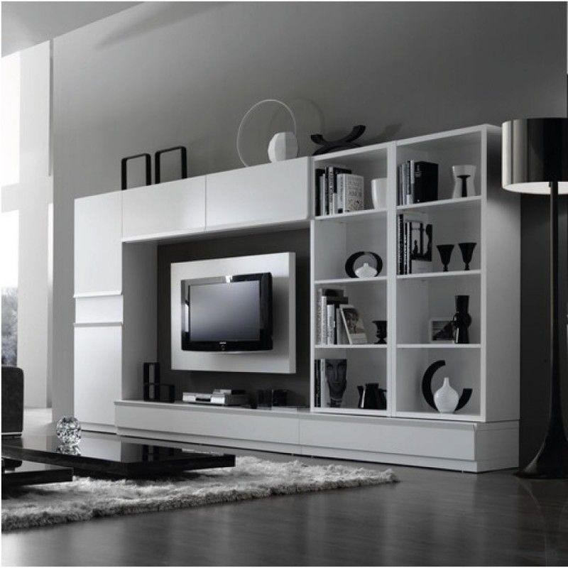 Meuble de salon mural amanda atylia maison pinterest mobilier de salon meuble design et - Meuble mural salon ...