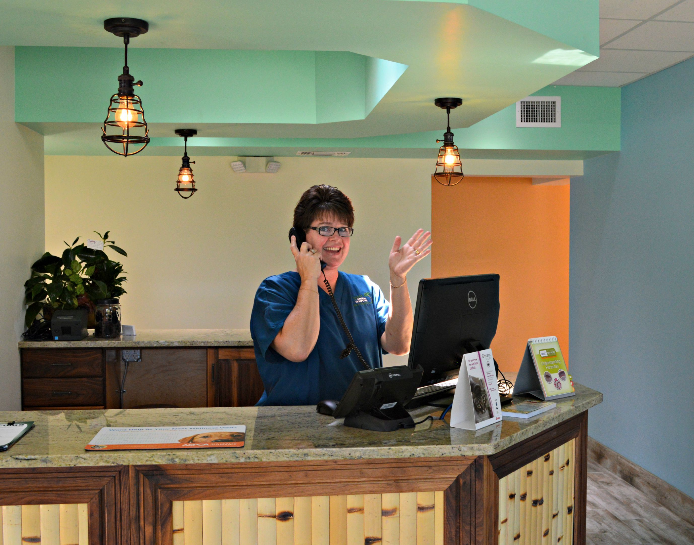 """Get to know our staff! Say """"Hi!"""" to Bobbi, technician and"""