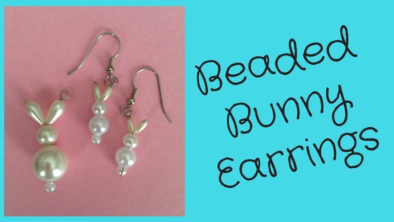 Diy Easter Bunny Earrings Diy Easter Earrings Bunny Earrings