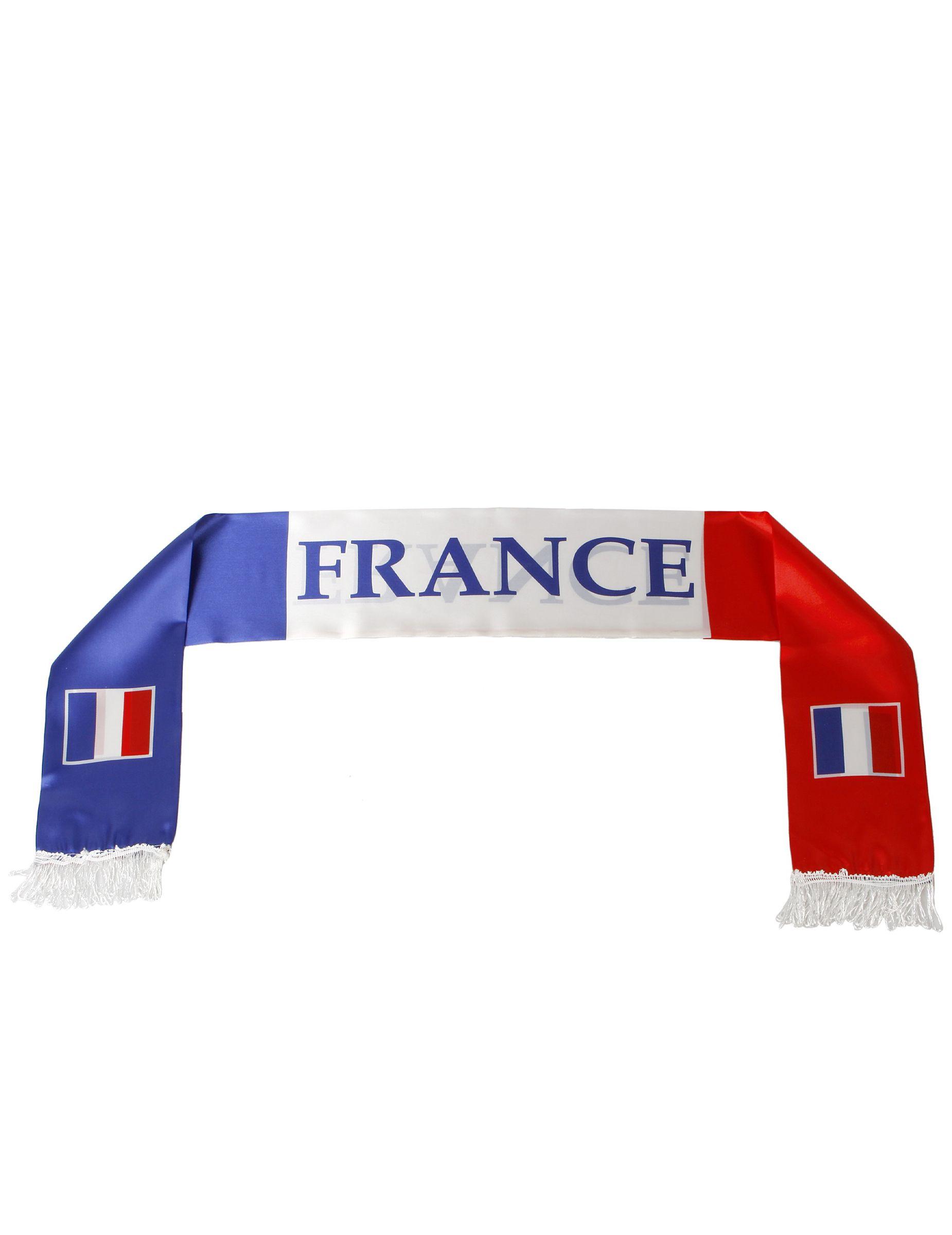 09d0db5d482 Echarpe supporter France   Cette écharpe de supporter est aux couleurs de  la France.Elle est bleu