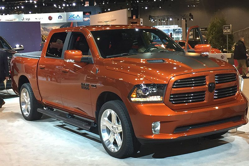 Image result for 2017 auto show truck copper color