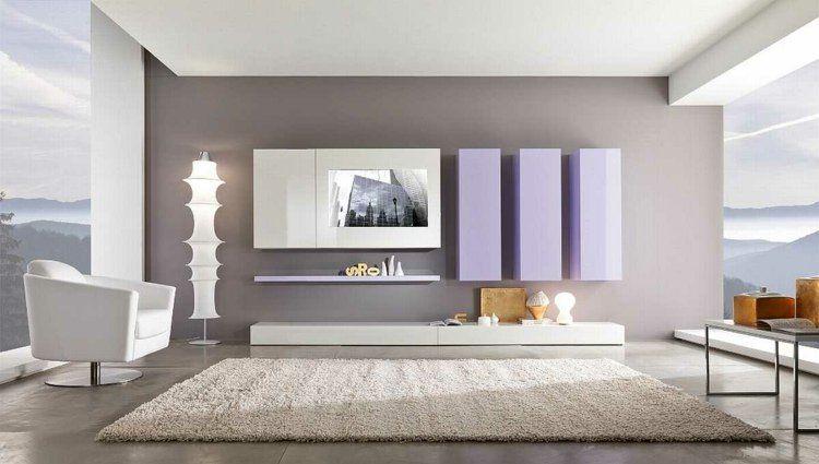 Décoration intérieur salon blanc: 48 idées de déco moderne