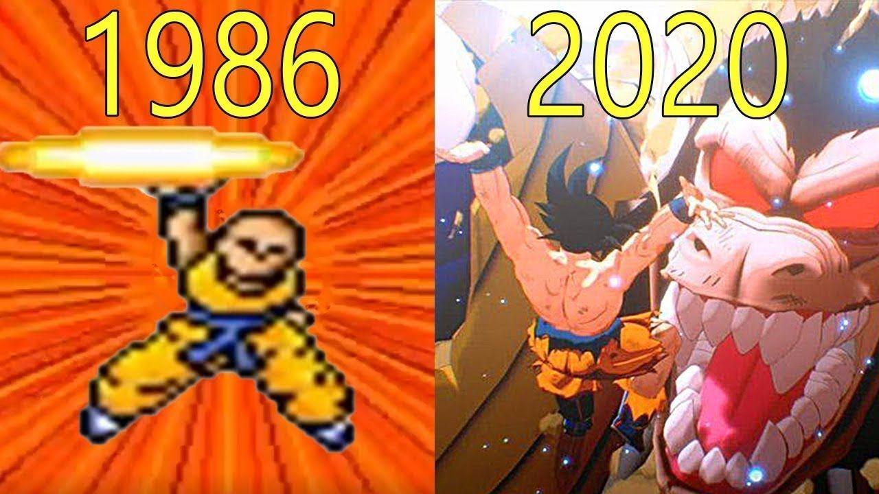 Evolution Of Dragon Ball Games 1986 2020 Dragon Ball Evolution Dragon Ball Gt