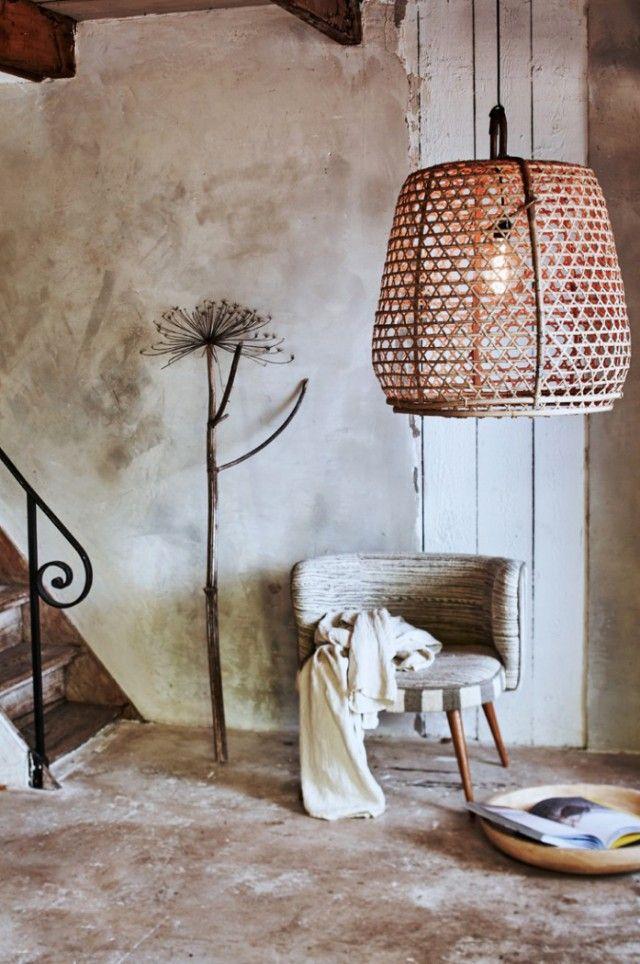 Basket Lighting Iluminar Pinterest Castillos en el aire - lamparas para escaleras