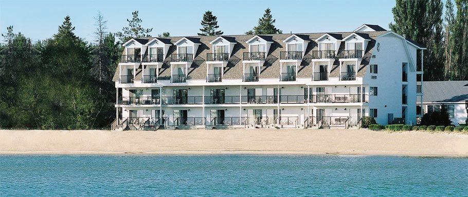 Quality Inn Mackinaw City Hotels Mackinaw City Edgewater Beach