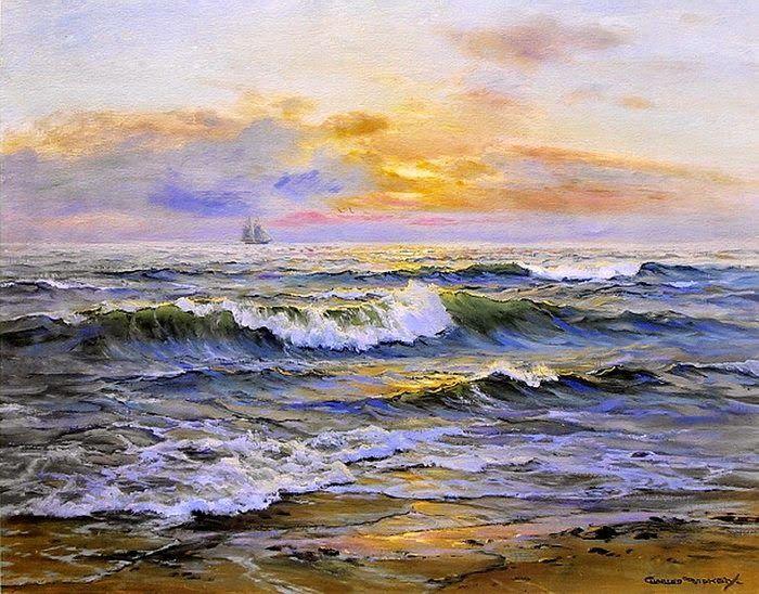 Charles vickery una pasi n por el mar todos los colores for Color agua marina pintura