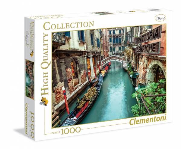 puzzle canal de venecia ( Ref:  0000039328 )