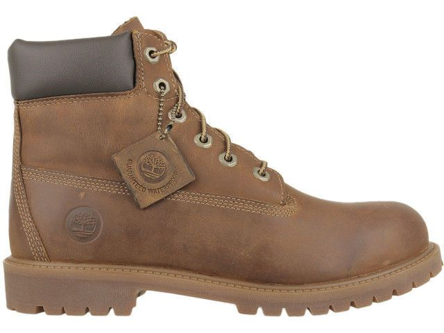 Boots Timberland Authentics 6 Inch Junior Rostbraun 80904