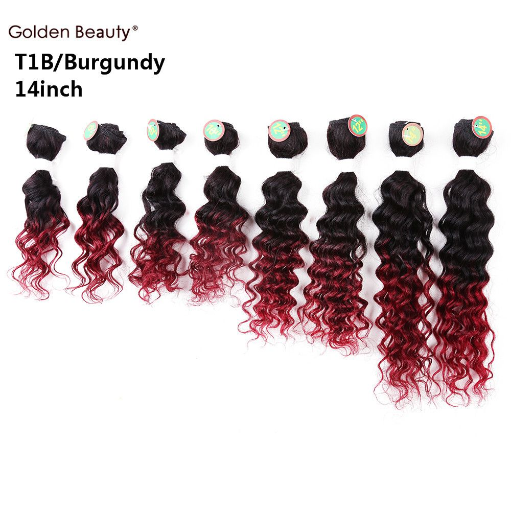8 14inch 8pcspack deep wave weave synthetic hair extensions cheap hair weave buy quality hair extension directly from china hair hair suppliers deep wave synthetic hair weave short sew in hair extensions for black pmusecretfo Choice Image