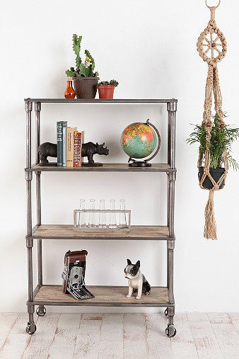 Inspire Of DIY Bookshelf On Casters For Easy Cleaning Rearranging Heritage