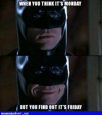Cool Meme In HttpMememakerUs Happiness  Batman Smiles Meme