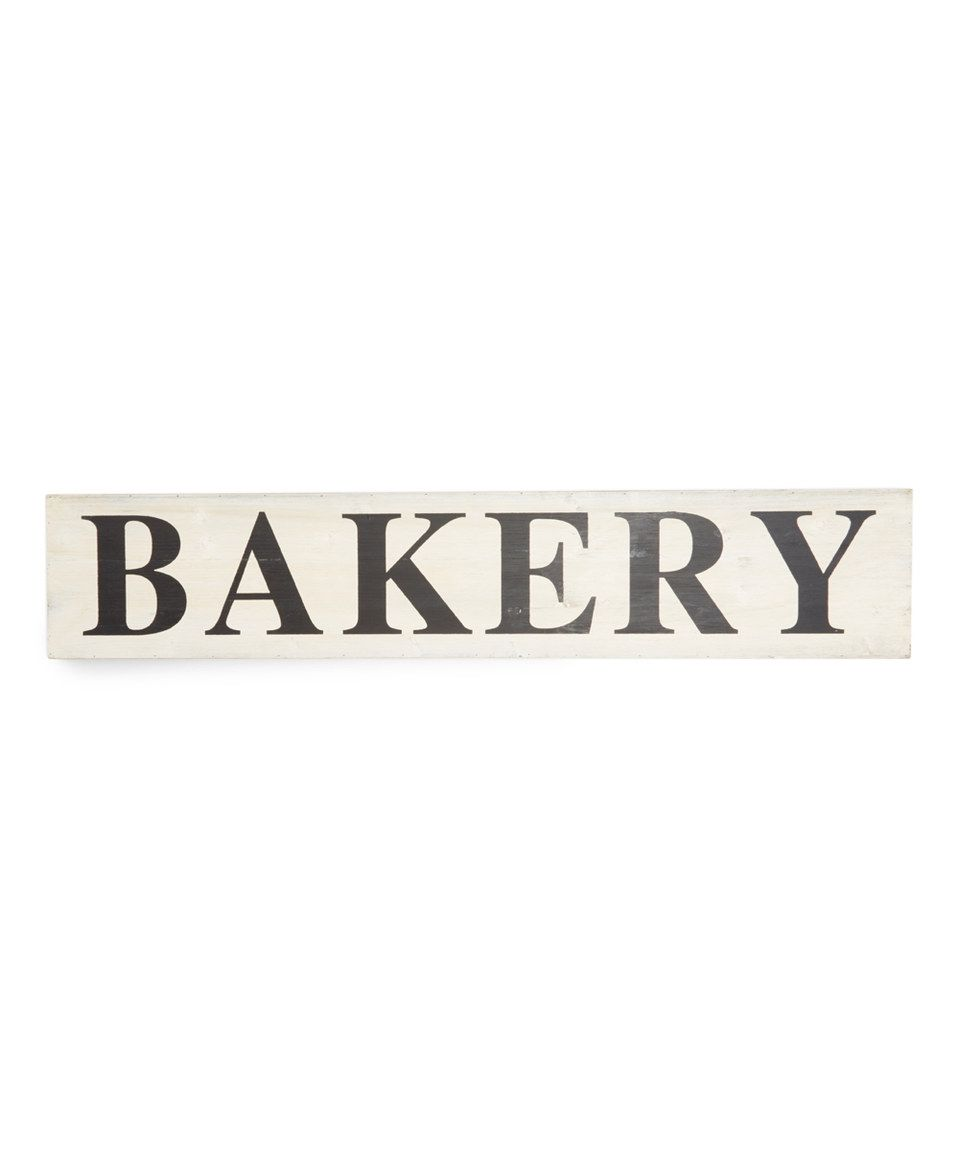 love this bakery wall sign by pd home and garden on zulily - Pd Home And Garden