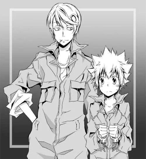 Spanner & Tsuna [Katekyo Hitman Reborn] ♥
