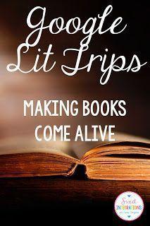 Google Lit Trips Books Come Alive Ela Pinterest Classroom