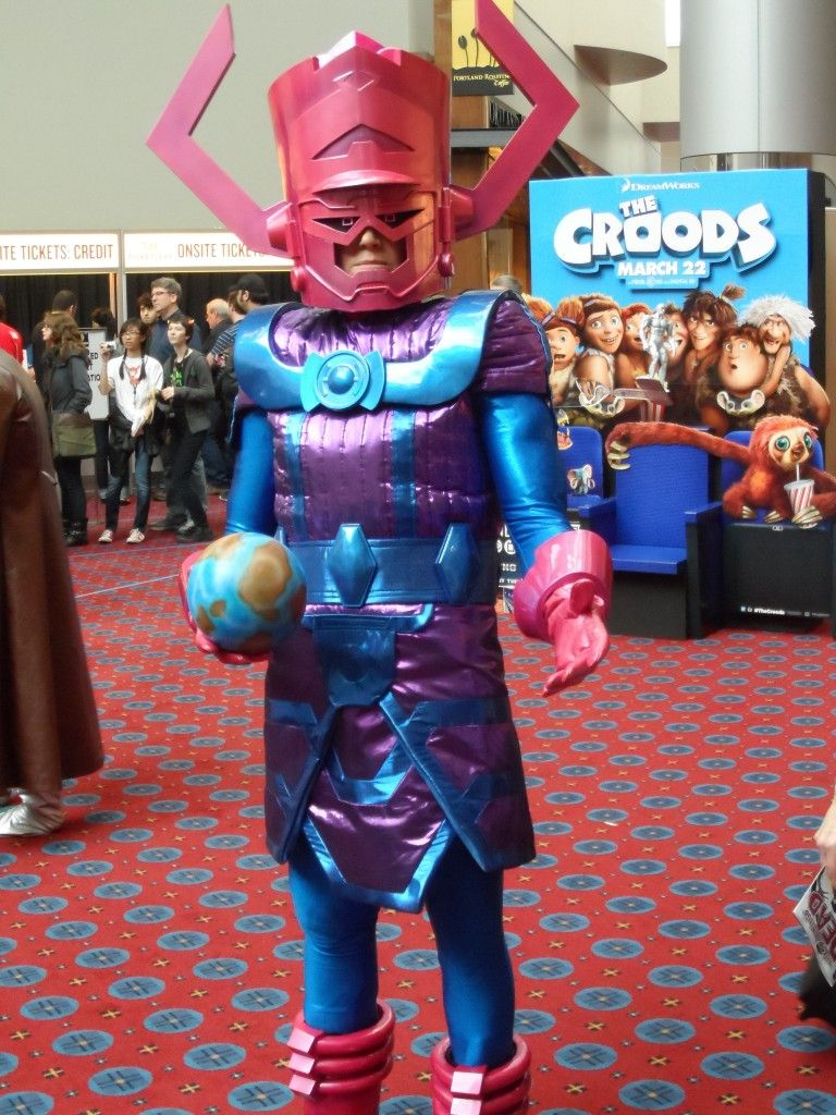 Galactus Cosplay Portland 2013 | Portland Wizard World Comic Con ...