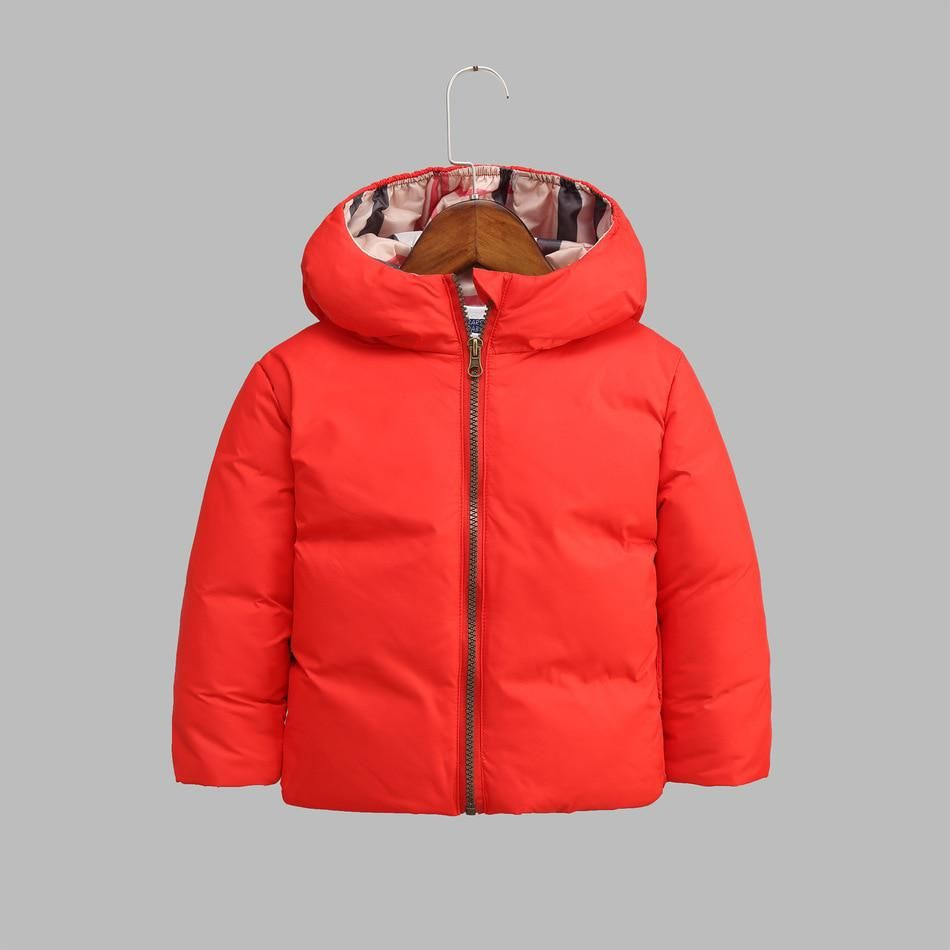 7fe736397cf7 Down Coat Winter Jacket For Boy Girls Parka Outerwear Boys Clothes ...