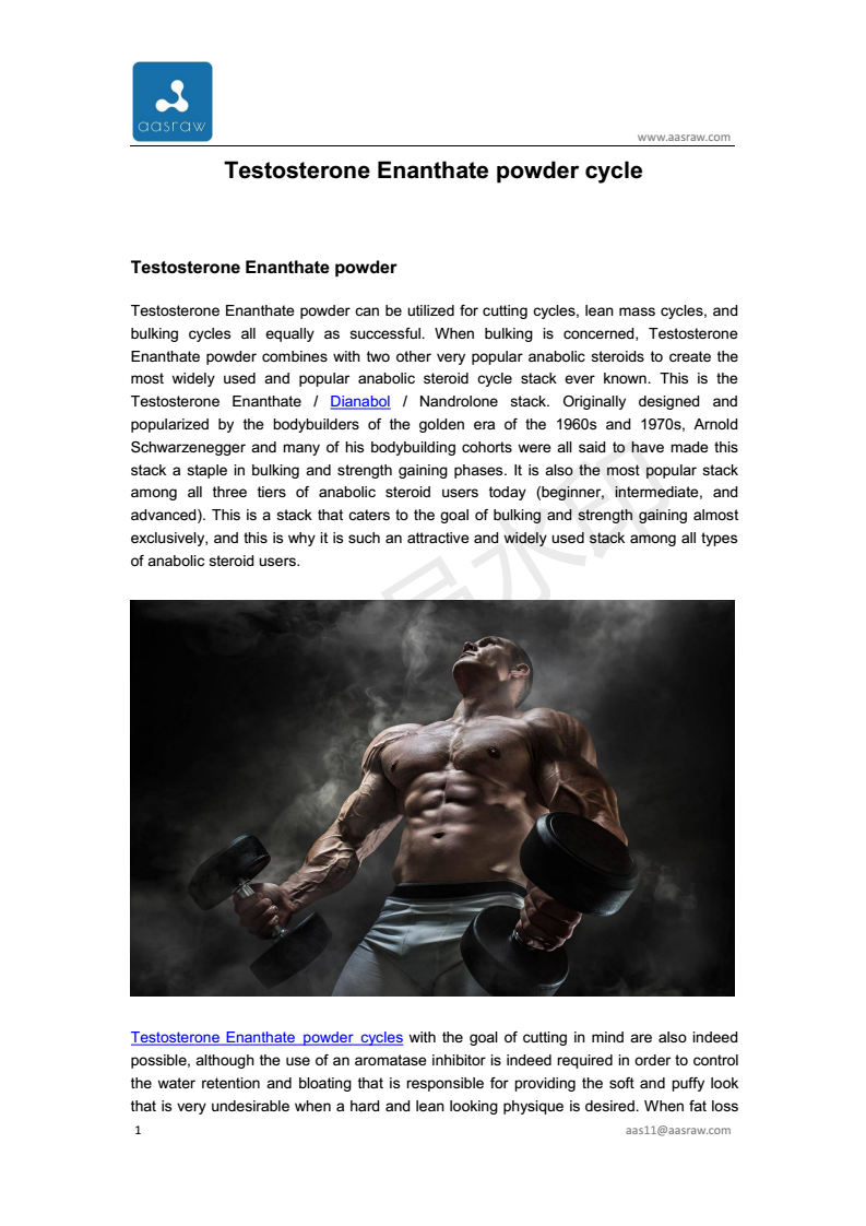 Testosterone enanthate is one of the most popular T boosters because