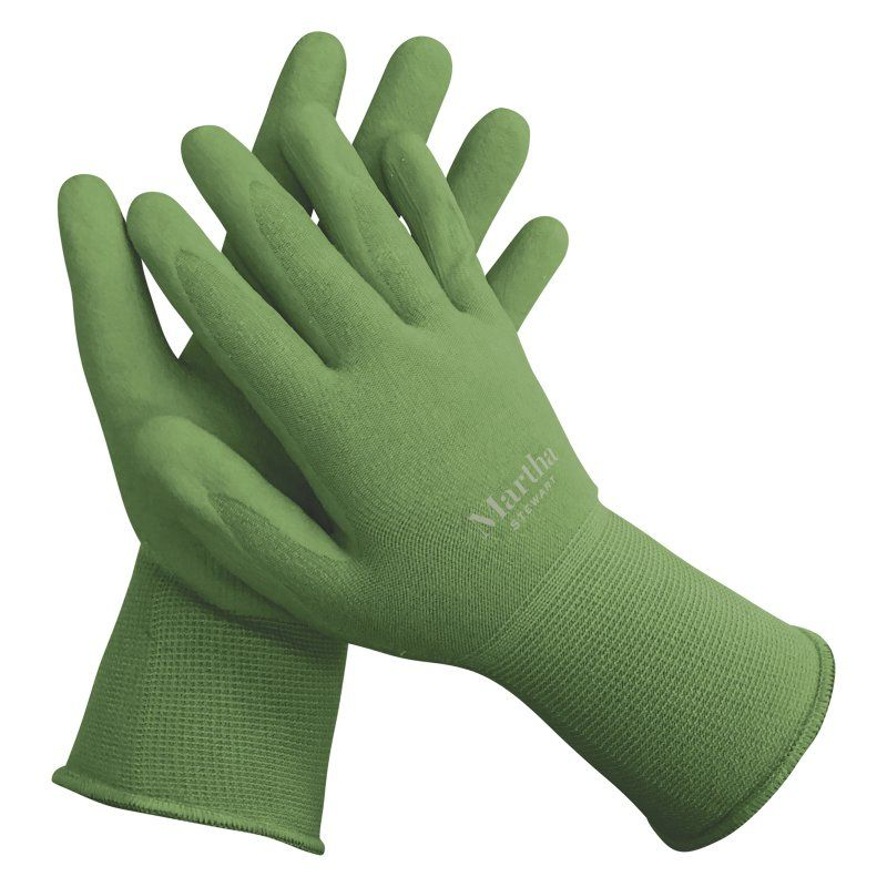 Martha Stewart Nitrile All Purpose Garden Gloves Gardening