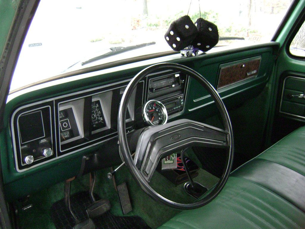 1975 f150 interior 1978 ford f150 super cab the green beast ludlow ma owned by 75 f. Black Bedroom Furniture Sets. Home Design Ideas