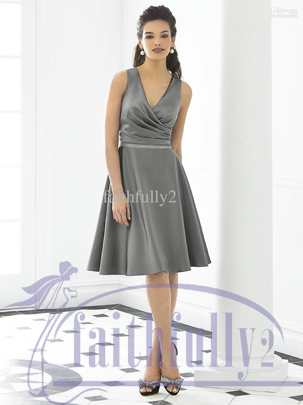 Dark grey cocktail dresses – Dress online uk