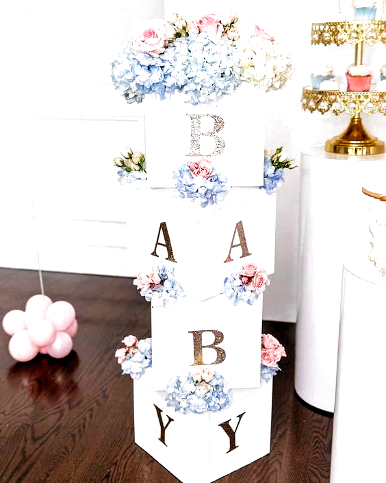 50 Cute Baby Shower Themes and Decorating Ideas for Girls - #Baby #babyshower #Cute #Decorating #Girls #Ideas #Shower #Themes