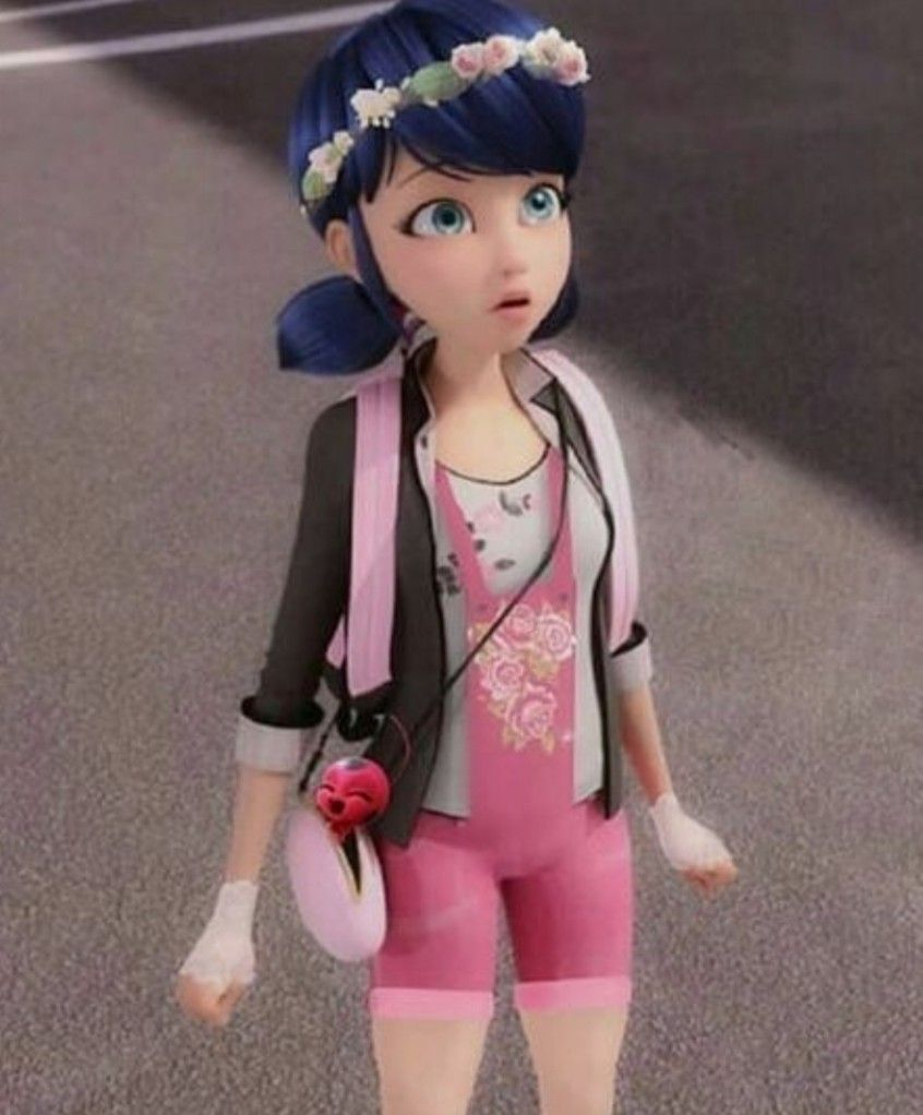 Marinette with her new style edit ♡ in 16  Miraculous ladybug