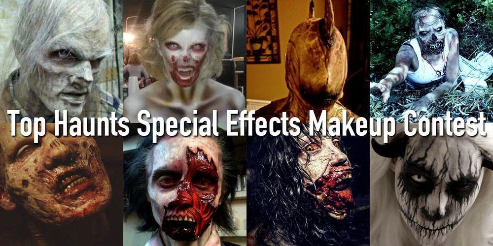 Top Haunts Magazine Special effects makeup, Poster