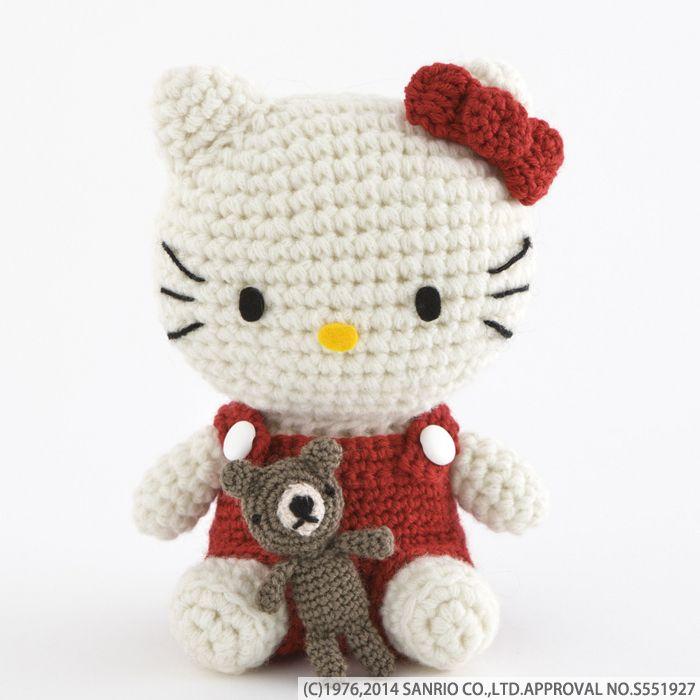 Hello Kitty Amigurumi Ganchillo Pinterest Amigurumi Hello