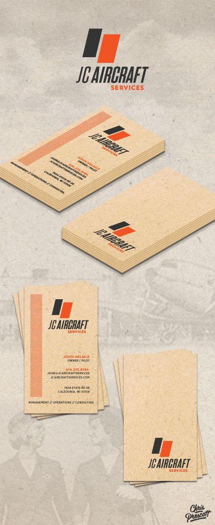 Logo branding business card design for jc aircraft services logo branding business card design for jc aircraft services located in racine wisconsin colourmoves