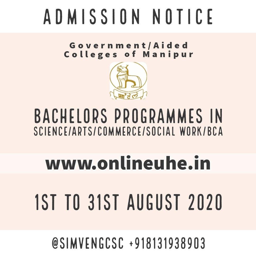 Bachelors Programmes In Science Arts Commerce Social Work Bca Admission Bachelor Program Social Work Education