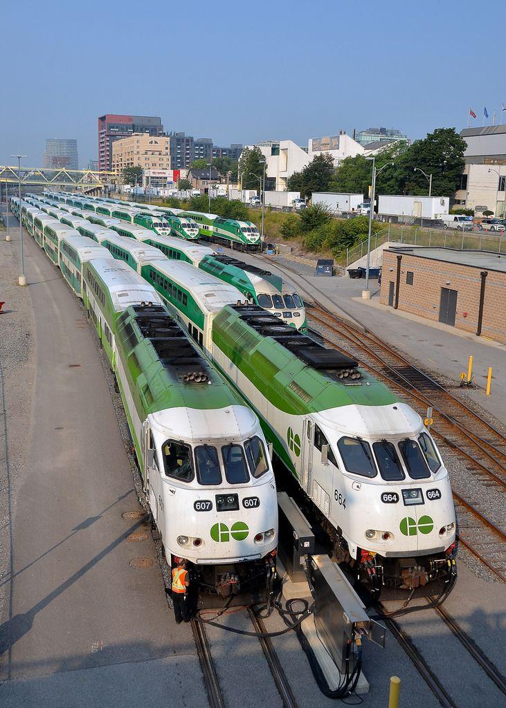 Worldwiderails Go Transit Abandoned Train Canadian National Railway