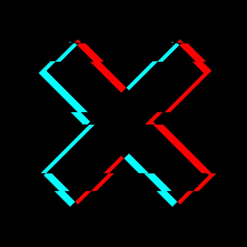 X Glitch Glitch Wallpaper Emoji Wallpaper Overlays Picsart