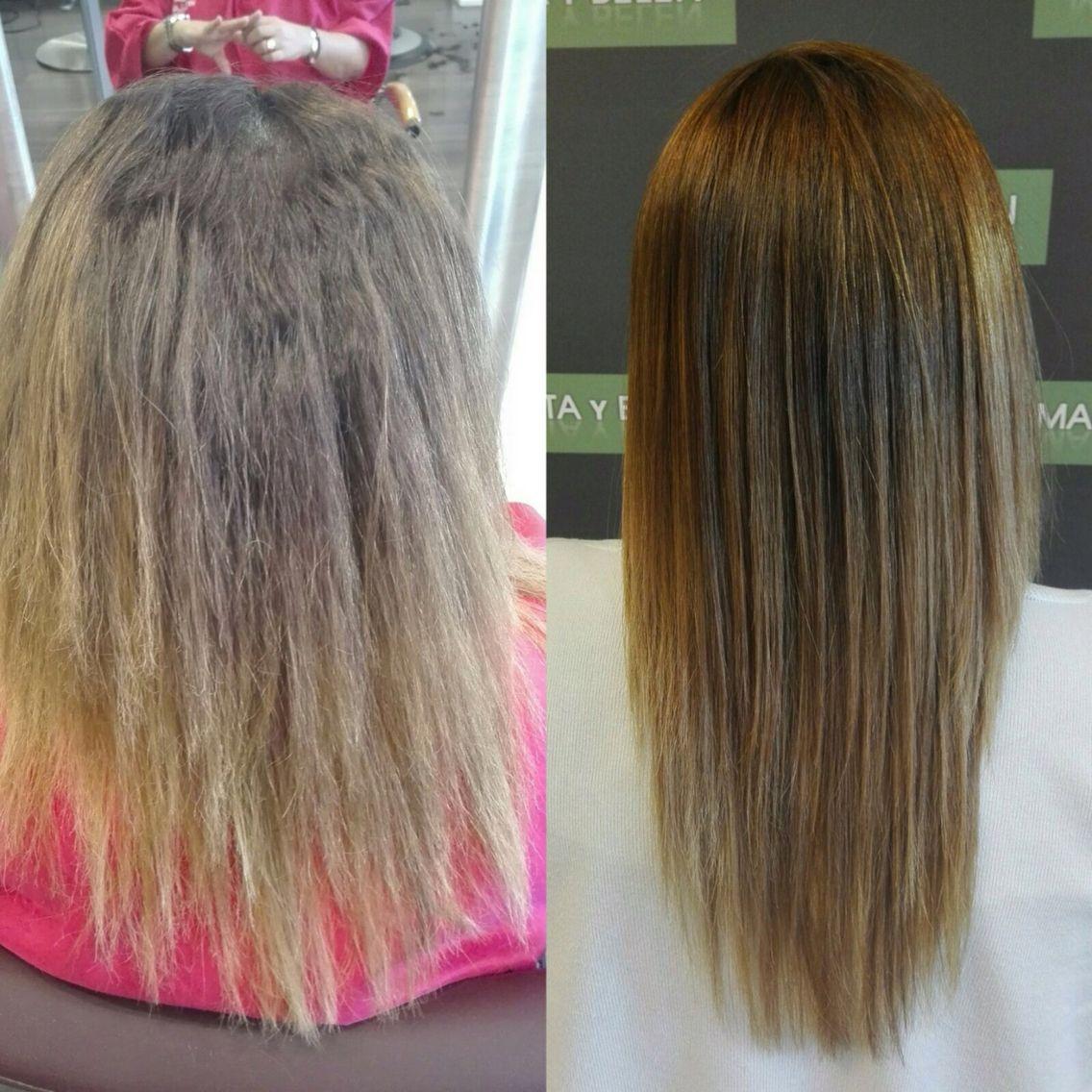 Tratamiento De Keratina Antes Y Despues Keratin Hair