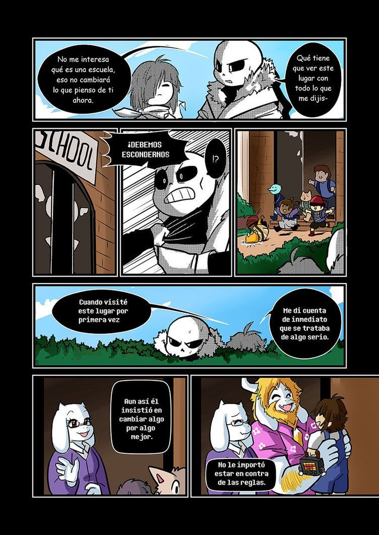 100 Pictures of Comics Undertale Español