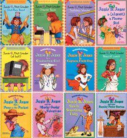 Junie B. Jones Lot of 8 Books, 2 Hardcover, 1 Double Edition, FREE SHIP
