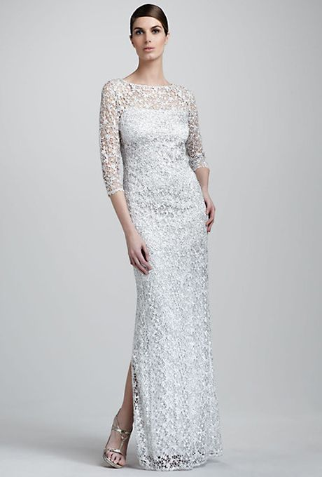 Brides: Affordable Wedding Dresses (Under $1,000!). Metallic lace ...