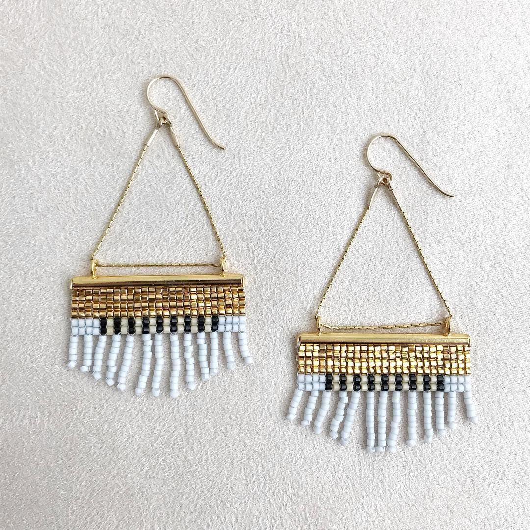 1f35f3d6f handwoven beaded earrings • Betty Alida   Beading & Jewelry   Beaded ...