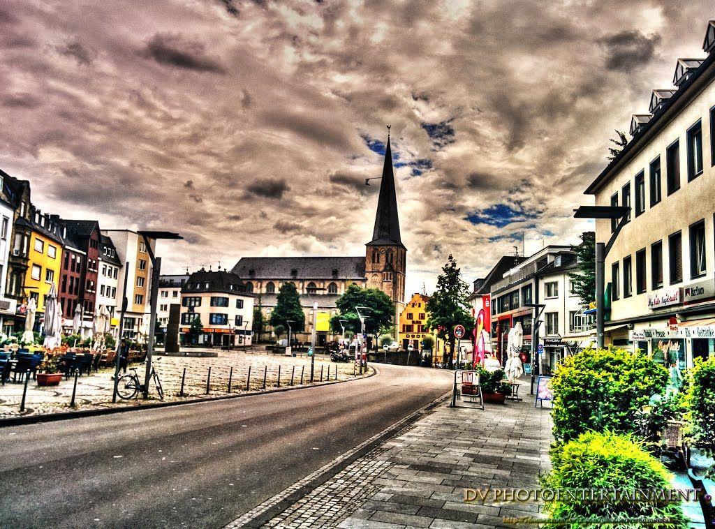 Citykirche vom Markt aus gesehen
