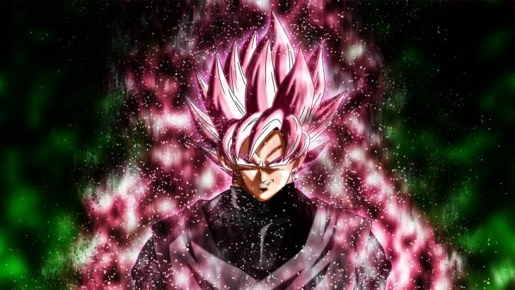 Goku Black Super Saiyan Rose Wallpaper Dragon Ball Super