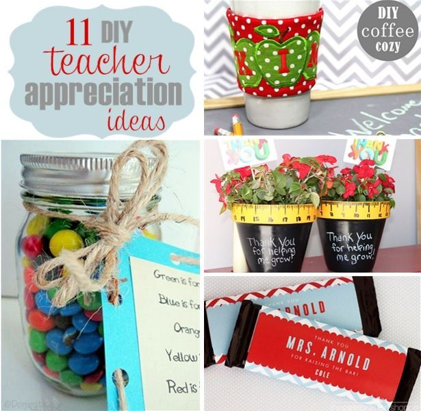 Teacher Appreciation Gift Ideas | Teacher, Crafts and Gift