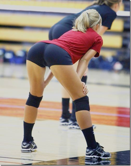 Sexy girls in vollyball shorts