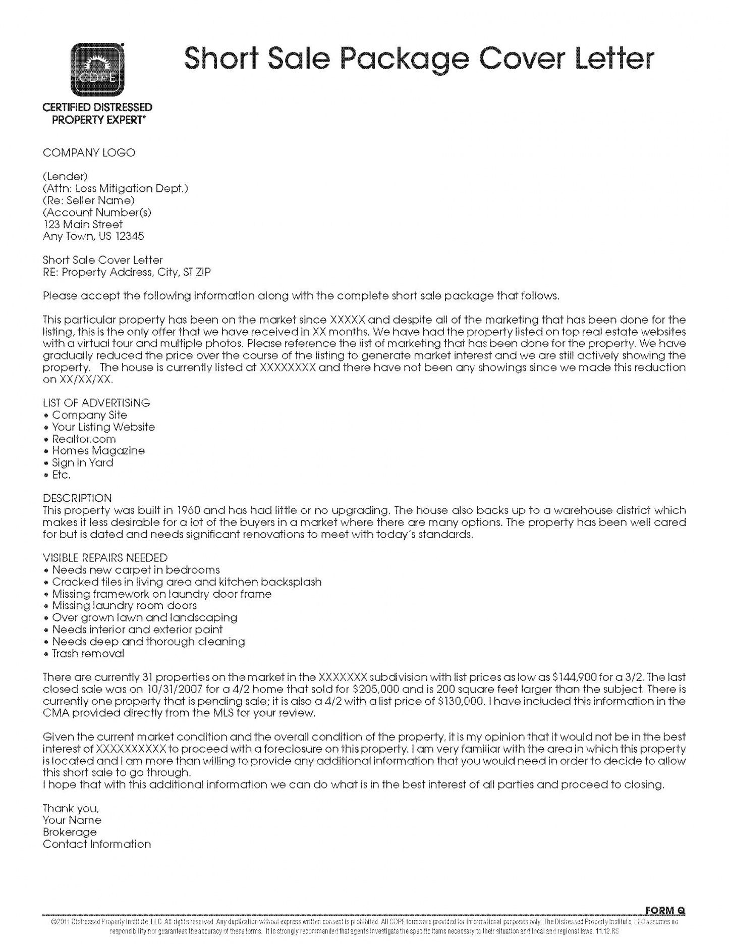 Pothole Claim Letter Template In 2020 Cover Letter Template