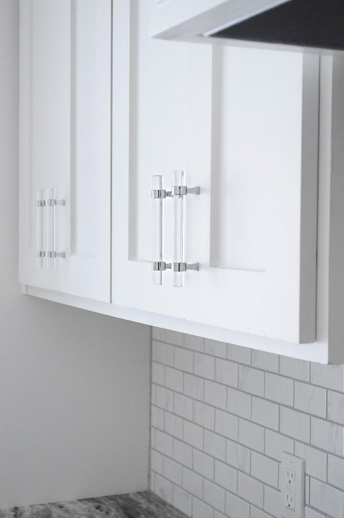 Affordable Lucite Cabinet Pulls Review Shaker Kitchen Cabinets