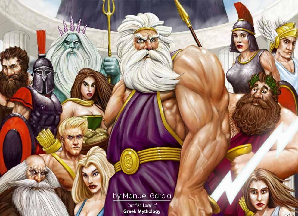 Mythology Pics | ... to the twelve Olympian Gods and Goddesses of ...