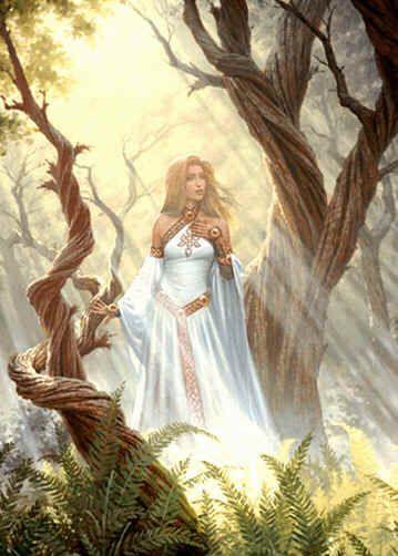 deusas nordicas -Eir conhecida por sua habilidade de cura (principalmente com ervas), inclusive conhecedora da ressurreição. Ela é uma das deusas da montanha Lifia