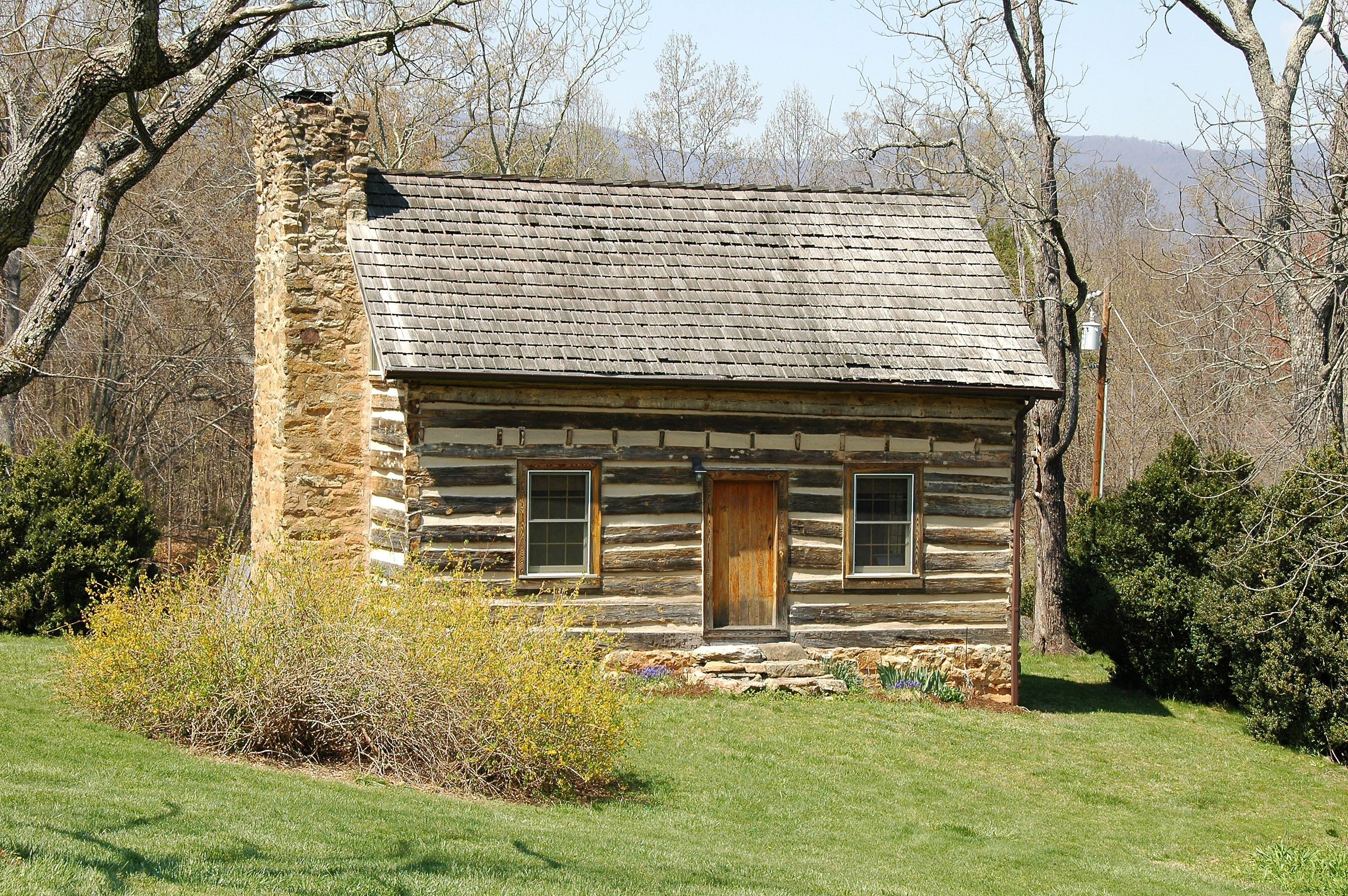 Log cabins treasure and use the carefully restored