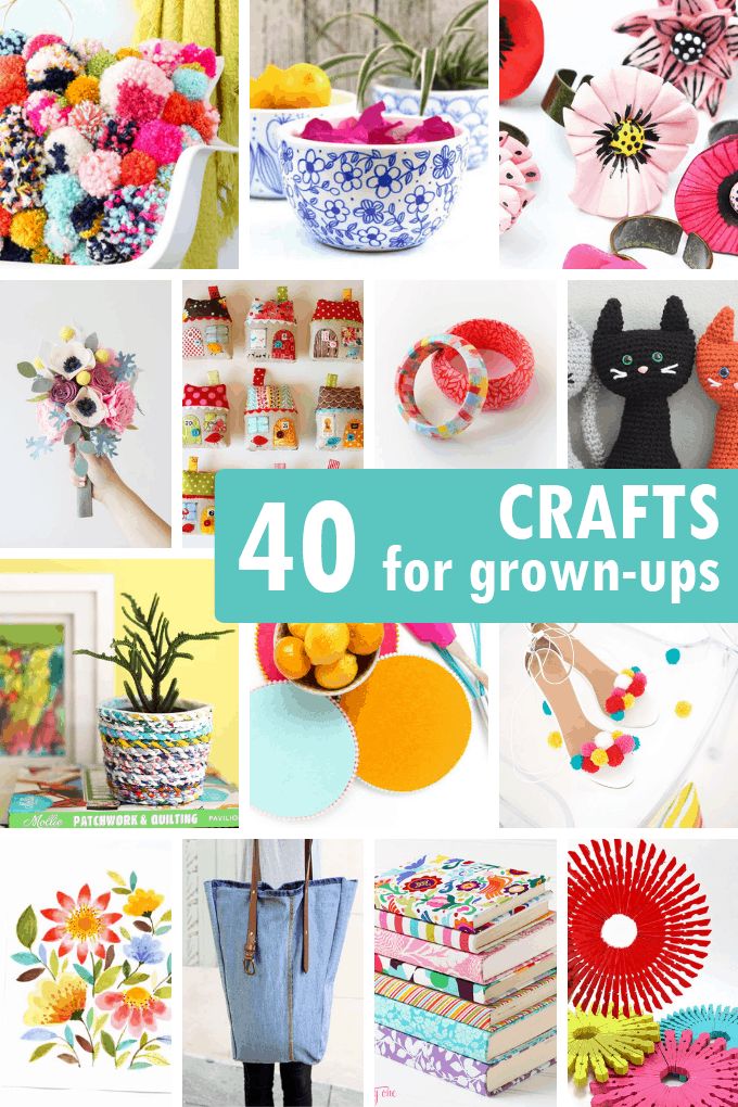 40 Adult Crafts Including Jewelry Accessories Home Decor Diy
