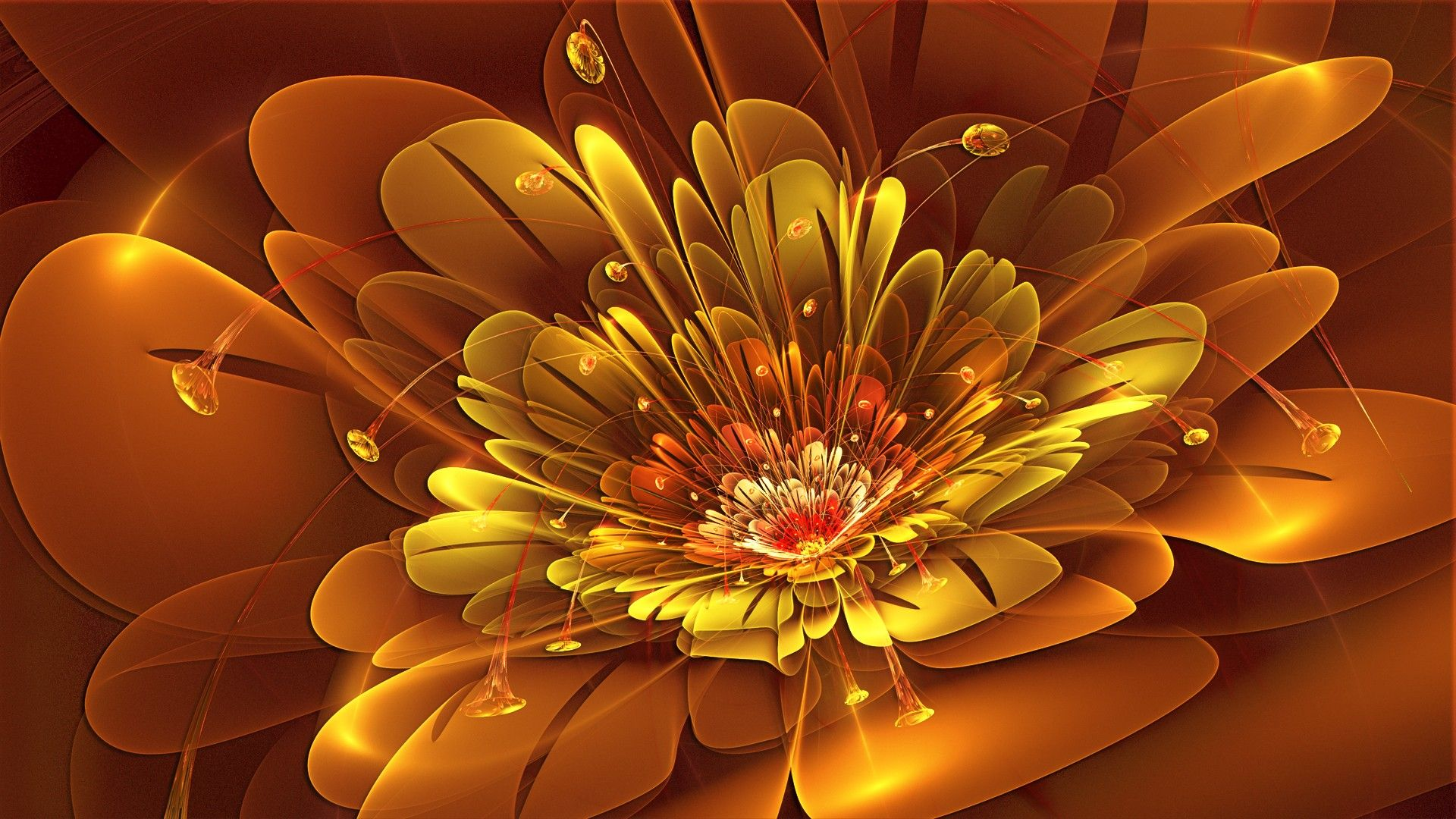 Download Abstract Flowers HD Wallpaper Abstract