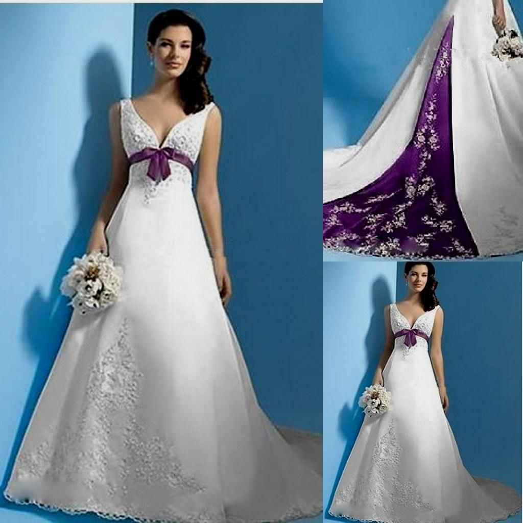 Purple Wedding Dresses for Sale - Wedding Dresses for the Mature ...